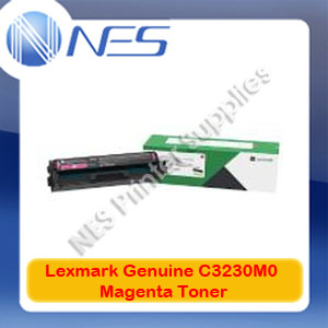 Lexmark Genuine C3230M0 MAGENTA Standard Yield Toner for MC3326adwe C3326dw Printer (1.5K Yield)